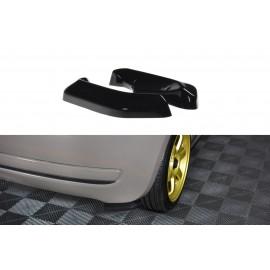 Splittery Boczne Tylnego Zderzaka ABS - Fiat 500 07-15