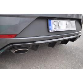 Dyfuzor Tylnego Zderzaka ABS - SEAT LEON III FR Facelift