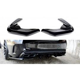 Splittery Boczne Tylnego Zderzaka ABS - Mercedes W205 C43 AMG