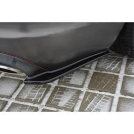 Splittery Boczne Tylnego Zderzaka ABS - Jaguar XF (X250) MK1 SPORTBRAKE S-PACK