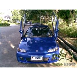 LSD Lambo Style Doors Honda Civic 3d 92-95