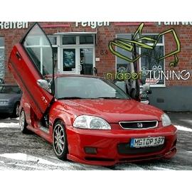 LSD Lambo Style Doors Honda Civic 3d 95-01