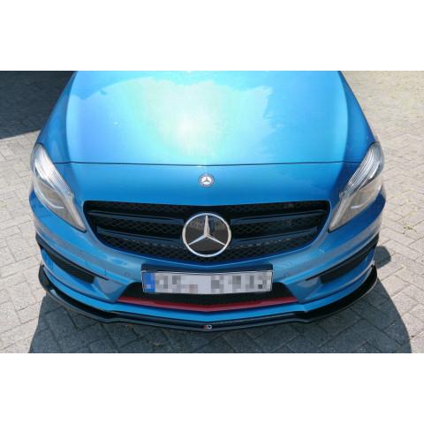 Przedni Splitter / dokładka ABS - Mercedes A W176 AMG 2012-15