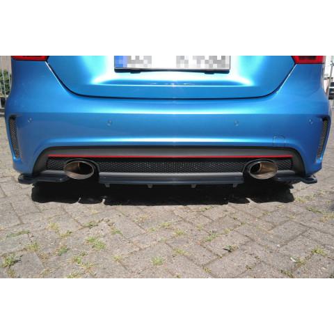 Dyfuzor centralny Tylnego Zderzaka ABS - Mercedes A W176 AMG 2012-15