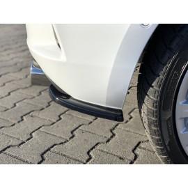 Splittery Boczne Tylnego Zderzaka ABS - Opel Astra K OPC-line