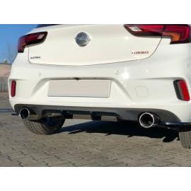 Dyfuzor Tylnego Zderzaka ABS - Opel Astra K OPC-line