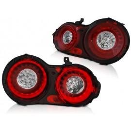 Nissan GT-R Red / White LED BAR - diodowe LDNI01