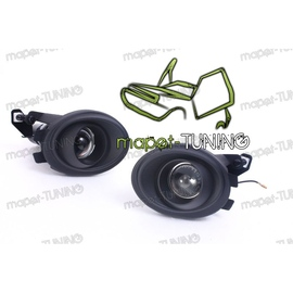 Halogeny soczewkowe  BLACK MAT - BMW E39 M-5 / E46 M-3 czarne