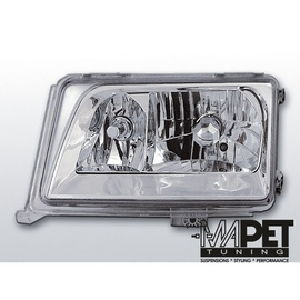 Mercedes E-klasa W124 85-93 clear CHROM LPME25