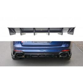 Dyfuzor Splitter Tylnego Zderzaka ABS - Audi RS4 B9 Avant 2017-