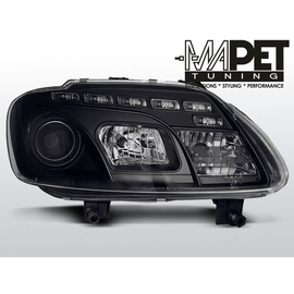 VW Touran - DayLight BLACK LED - LPVWC4