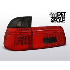 BMW E39 Touring Kombi CLEAR RED/BLACK LED diodowe LDBM56