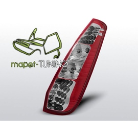 Ford Fiesta MK6 3d - LED Red/White - diodowe LDFO17