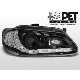 Renault Megane 96-99 DayLight BLACK LED - kierunkowskaz LED 26