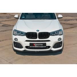 Przedni Splitter / dokładka ABS - BMW X3 F25 M-Pack Polift