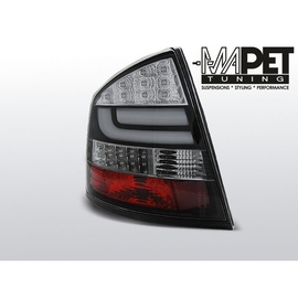 Skoda Octavia II 5D  04- Black LED BAR - diodowe LDSK14
