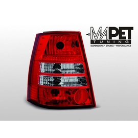 VW Golf 4 Variant clearglass RED WHITE LTVW93