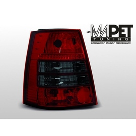 VW Bora Variant clearglass RED BLACK LTVW94