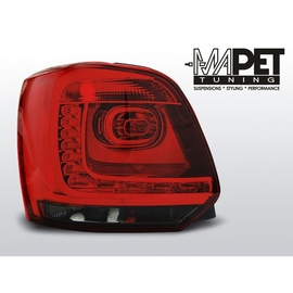VW Polo 6R 09-13 Red / Black LED diodowe LDVWB3
