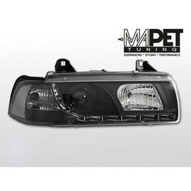 BMW E36 Sedan / Touring / Compact - DayLight BLACK LED - LPBM52