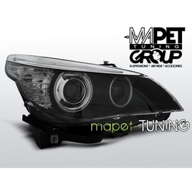 BMW E60 / E61 - Black Angel Eyes Ringi CCFL BI-XENON D1S LPBMC9