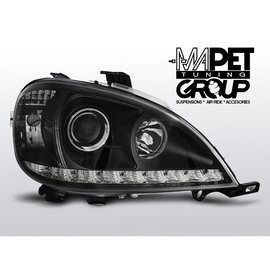 Mercedes M klasa W163 ML  01-05 BLACK LED diodowe  LPME85