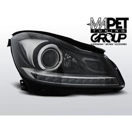 Mercedes C-klasa W204 11-14 BLACK LED diodowe LPME87