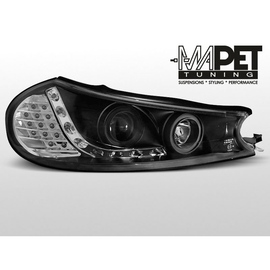 Ford Mondeo I - DayLight BLACK LED + kierunkowskazy LED LPFO29