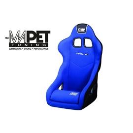 Fotel OMP TRS-E - niebieski