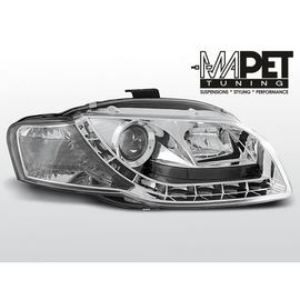 Audi A4 B7 04-08 CHROM Daylight  LPAU41