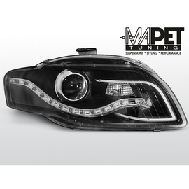 Audi A4 B7 04-08  BLACK LED Diodowe Bi-halogen  LPAU52