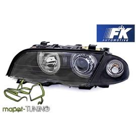 BMW E46 Sedan / Touring 98-01 Angel Eyes BLACK Ringi FK LPBM41