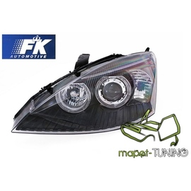 Ford Focus I 98-01 Angel Eyes BLACK ringi FK LPFO42