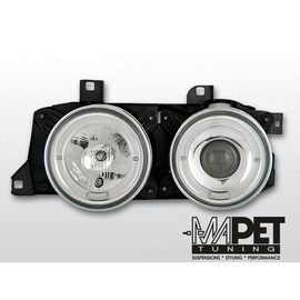 BMW E32 CHROM Angel Eyes soczewkowe Ringi LPBM50