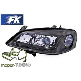 Opel Astra G - DayLight BLACK LED -  FK  LPOP82