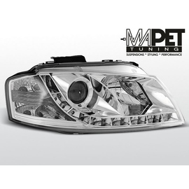 Audi A3 03-08  DayLight CHROM LED -  LPAU43