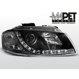 Audi A3 03-08  DayLight BLACK LED -  LPAU44