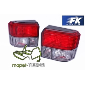 VW T4 Caravelle / Multivan / Transporter  -  RED / WHITE FK  LTVW46