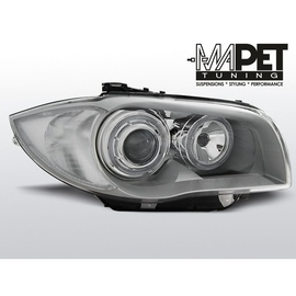 BMW 1 E87 / E81  04-07  CHROM Angel Eyes  ringi LED  FK LPBMD4
