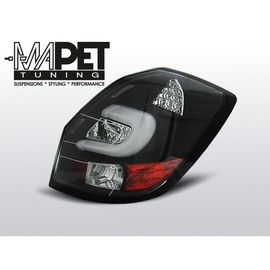 Skoda Fabia II 07- LED BAR BLACK LDSK09