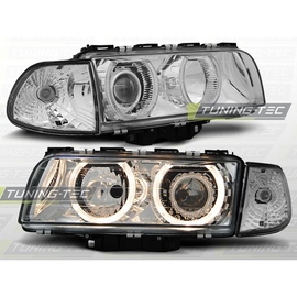 BMW E38 94-98 Angel Eyes Chrom Ringi soczewkowe LPBM14 DEPO