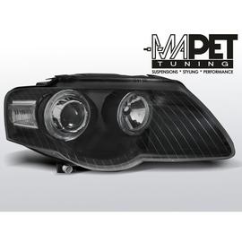 VW Passat B6 3C - Angel Eyes BLACK - czarne z ringami LPVWC6 DEPO
