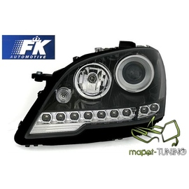Mercedes M-klasa W164 ML  BLACK Daylight  LPME40 FK