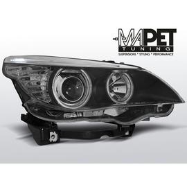BMW E60 / E61 04-07 BLACK Angel Eyes ringi CCFL LPBM64