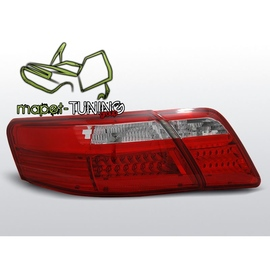 Toyota Camry 6 - Red White LED diodowe LDTO04