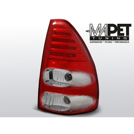 Toyota Land Cruiser 120 Red White LED Celis diodowe paski LDTO10