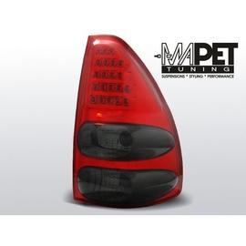 Toyota Land Cruiser 120 - Red Black LED diodowe LDTO08