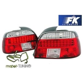 BMW E39 Sedan  CLEAR RED/WHITE LED diodowe FK  LDBM01