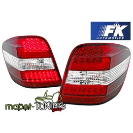 Mercedes M-klasa (W164) clear Red/White LED DIODOWE FK