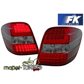 Mercedes M-klasa (W164) clear Red/Black LED DIODOWE FK